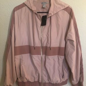 Pink Athletic track jacket